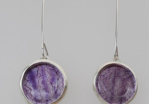 Long-earrings-enamelled-glass-and-Stirling-silver-min